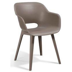 Allibert krzesło akola - cappuccino