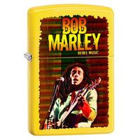 Zapalniczka  bob marley real music, lemon matte marki Zippo