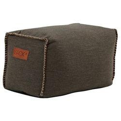 Pufa SACKit SQUAREit Cobana Outdoor 60x35x40 brązowa, kolor brązowy