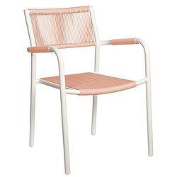 Krzesło ogrodowe różowy SHELLY - sprawdź w wybranym sklepie