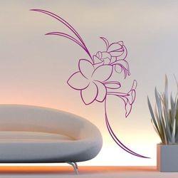 Szablon malarski kwiaty 017 marki Wally - piękno dekoracji