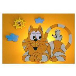 Kinkiet dziecięcy kotek 1xe14/25w/220v od producenta Prezent