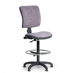 B2b partner Podwyższone krzesło biurowe milano ii - szare