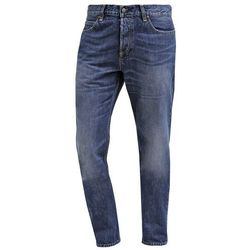Carhartt WIP TEXAS Jeansy Straight leg blue gravel washed