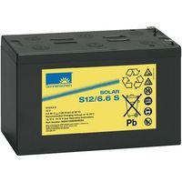 Akumulator ołowiowy 6,6 Ah, sucha bateria słoneczna S12/6,6S