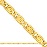 Złoty łańcuszek dmuchany ślimak ld071