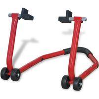 vidaXL Podnośnik stojak motocyklowy tylny czerwony - sprawdź w wybranym sklepie