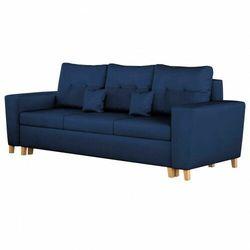 Sofa z funkcją spania i pojemnikiem ▪️ elio ▪️ kolory do wyboru! marki Meblin