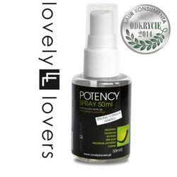 Potency spray - extra formuła od producenta Lovely lovers