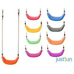 Huśtawka plastikowa LUX - fioletowy
