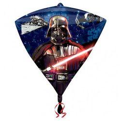 Balon foliowy diamentowy Star Wars - 38 x 43 cm - 1 szt.