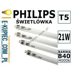 ŚWIETLÓWKA LINIOWA T5 21W/840 Philips 21W 4000K - produkt dostępny w Sklep elektryczny www.e-kupiec.com.pl