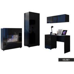 Selsey zestaw mebli kirdon z szafą i komodą do domowego biura (5900000060839)