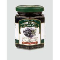 Dżem z jagody leśnej bez cukru BIO 200g - Runoland