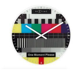 :: zegar ścienny testpage Ø 43 cm marki Nextime