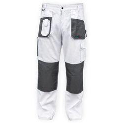 Spodnie robocze  bh4sp-m biały (rozmiar m/50) marki Dedra