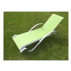 Leżak Rojaplast ZWC-78 jasnozielony - produkt z kategorii- Leżaki ogrodowe