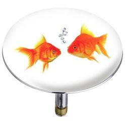 Wenko Korek odpływowy pluggy® xxl fishes,