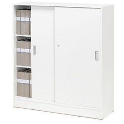 Szafy biurowe - Kolor korpusu: Biały, Kolor drzwi:, Biały, 151463