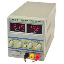 Zasilacz laboratoryjny WEP PS-305D 30V 5A mA/A dok?adny z kategorii Transformatory