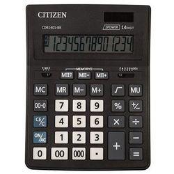 Kalkulator biurowy cdb1401-bk business line, 14-cyfrowy, 205x155mm, czarny marki Citizen