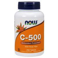 Witamina C-500 - 250 Tabs Nowfoods