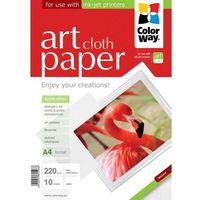 ARSEJ Papier Foto ColorWay Matowy Tkanina A4 220g 10 szt