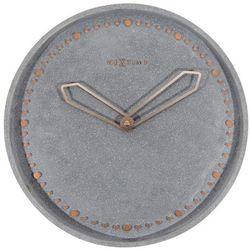 Nextime Zegar ścienny cross szary