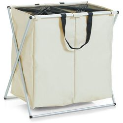 Pojemnik na pranie, 2 komorowy kosz na brudną bieliznę 128 litrów, marki Zeller