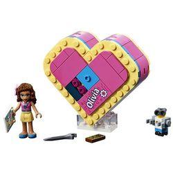 Lego polska Lego klocki friends pudełko w kształcie serca olivii gxp-671415 - darmowa dostawa od 199 zł!!! (5702016368758)