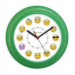 Zegar ścienny kolorowy miny, kolor wielokolorowy