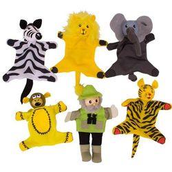 Safari - pacynki na palec, Bigjigs Toys
