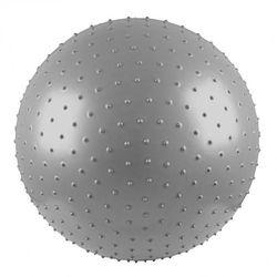 Piłka gimnastyczna do masażu inSPORTline z wypustkami 55cm - Kolor Szary - produkt z kategorii- Piłki i skakanki