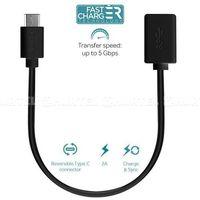 PURO Type-C Charge & Sync Adapter - Adapter USB-C 3.1 na USB-A 3.0 do ładowania & synchronizacji danych, 2A,