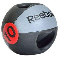 Piłka lekarska z podwójnym uchwytem 10 kg, Reebok z supersports.pl