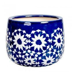 Ceramiczna osłona na donicę Ca`tout L - produkt z kategorii- Doniczki i podstawki