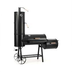 Klarstein monstertruck smoker grill barbecue wędzarnia stal czarny (4260435910701)