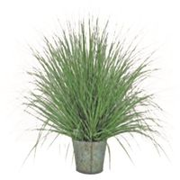 :: trawa okrągła natural 50cm - 50cm ||wys. 50cm donica 15cm marki Miloo