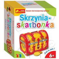 Ranok-creative Skrzynia-skarbonka zrób to sam (4823076100735)