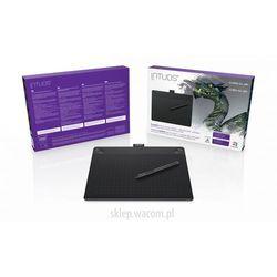 Tablet graficzny  intuos 3d m (a5) cth-690tk czarny + zbrushcore® + kurs obsługi pl * polska dystrybucja i g