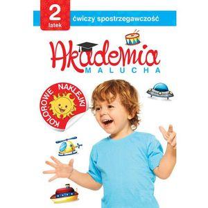 Akademia Malucha 2 Latek Ćwiczy Spostrzegawczość - Praca zbiorowa, praca zbiorowa