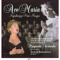 Ave maria - cd od producenta Chór r.z.a. wojska polskiego