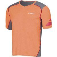 t-shirt v-neck performance m - orange marki Babolat