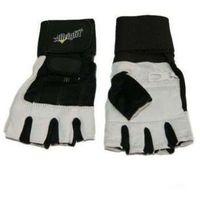 Allright Rękawice kulturystyczne  skóra z nadgarstkiem (rozmiar:: m) (5902634990601)