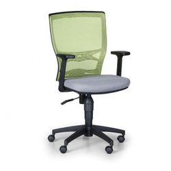 Krzesło biurowe venlo, zielone / szare marki B2b partner