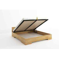 Łóżko drewniane sosnowe ze skrzynią na pościel SPECTRUM Maxi & Long ST 90-200x220
