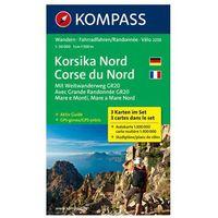 Kompass Karte Korsika Nord, 3 Bl.. Corse du Nord (9783850268523)