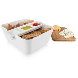 Pojemnik na pieczywo w zestawie do przekąsek Bread & Dip z kategorii Chlebaki