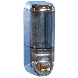 Dozownik do mydła w płynie Merida MINI 0,17 litra plastik srebrny (5908248109019)