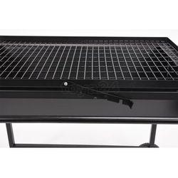 węglowy grill ogrodowy otwarty, ruszt regulowany 81x50 cm od producenta Toya